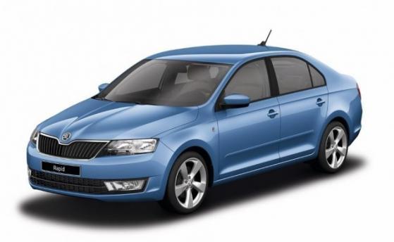(D) Skoda Rapid Sedan Models 2018-2019