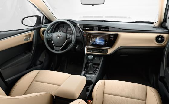 (E) Toyota Corolla Sedan Models 2018-19