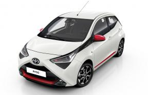 (Aa) Toyota Aygo Model 2019-2020 Automatic