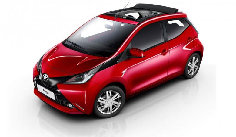 Ga Toyota Aygo Open Top Aut. Model 2019