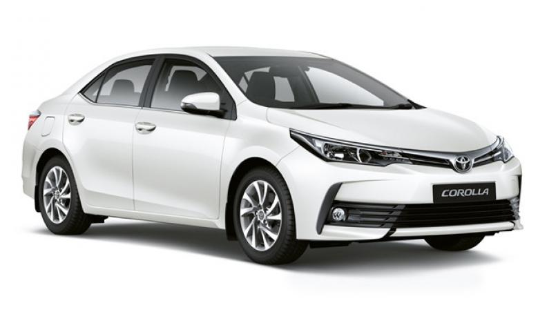 (E) Toyota Corolla Sedan Models 2018-19